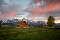 "Wyoming, barn, ""mormon row"", tetons, ""grand teton national park"", historic, ""John Moulton Barn"""