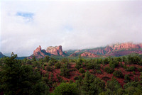 "Sedona, ""fine art photography"", landscape, ""red rocks"", ""cloudy rock formation"""