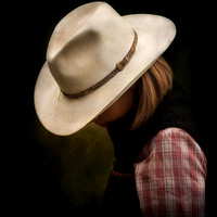 "Horses, Wyoming, cowgirl, ""fine art photography"", ""Big L"", profile, protector,  ""western photography"", portrait"